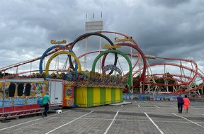Les cinq loopings de l'attraction Olympia Looping. ((Photo: Maxime Toussaint/Maison Moderne))