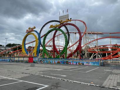 L'attraction Olympia Looping est sans doute la plus attendue du Fun um Glacis. (Photo: Paperjam)