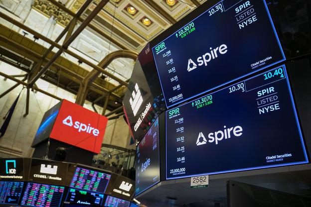 Si l'action a perdu un peu de lest depuis l'entrée au NYSE, actionnaires et investisseurs préfèrent regarder au loin et voir les développements annoncés que le cash libéré par la SPAC va pouvoir financer. (Photo: Spire Global)