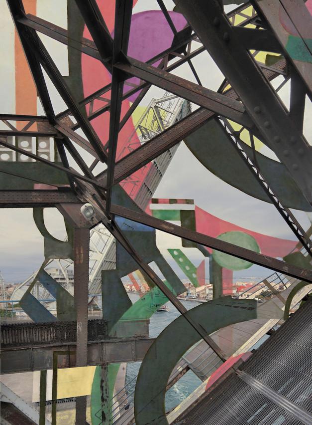 Série «Les Nouveaux Constructeurs» Sète – Pont Sadi Carnot n°2, 2018. (Photo: Stéphane Couturier)