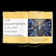 MichelReckinger, actuel président de la Fédération des artisans, sera en janvier2021 le président de l'Union des entreprises luxembourgeoises. ((Photo: Andrés Lejona / Maison Moderne))