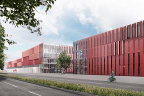 Le CNISprendra place sur un terrain de 5,2ha appartenant à la Ville de Luxembourg. ((Illustrations: Böge Lindner K2 Architekten))