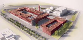 Les services de secours publics du Grand-Duché pourront être regroupés dans une nouvelle structure unique sous forme d'un établissement public, géré conjointement par l'État et les communes. ((Illustrations: Böge Lindner K2 Architekten))