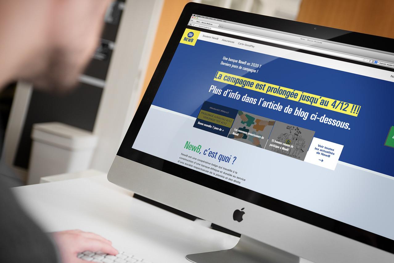 Les responsables de NewB ont réussi une vaste campagne de soutien auprès de la population belge. (Photo: Maison Moderne)