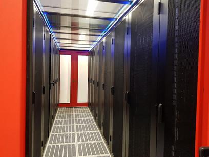 Une vue des infrastructures de G-Core Labs au Grand-Duché. L'entreprise ouvre désormais une succursale et un cloud public en Allemagne. (Photo: G-Core Labs)