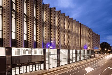 Le quartier de l'Amphithéâtre, où se trouve le centre des congrès de Metz, ainsi que le Centre Pompidou-Metz, est particulièrement impacté. (Photo: Metz Congrès Robert Schuman / Luc Boegly)