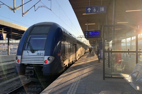 Seuls sept trains circuleront entre Metz, Thionville et Luxembourg en heure de pointe jeudi. (Photo: Paperjam)