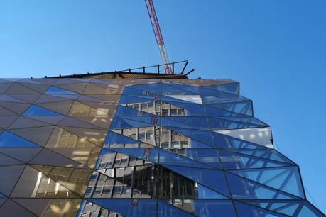 Le gros œuvre est fini. Les Galeries Lafayette peuvent lancer les travaux d'aménagement intérieur. (Photo: Codic)