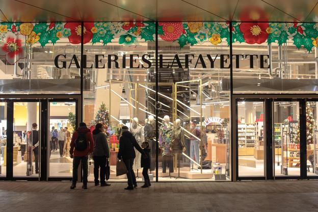 Les Galeries Lafayettelouent actuellement 6.500m² de surface dans le complexe Royal-Hamilius. (Photo: Matic Zorman / Archives Maison Moderne)