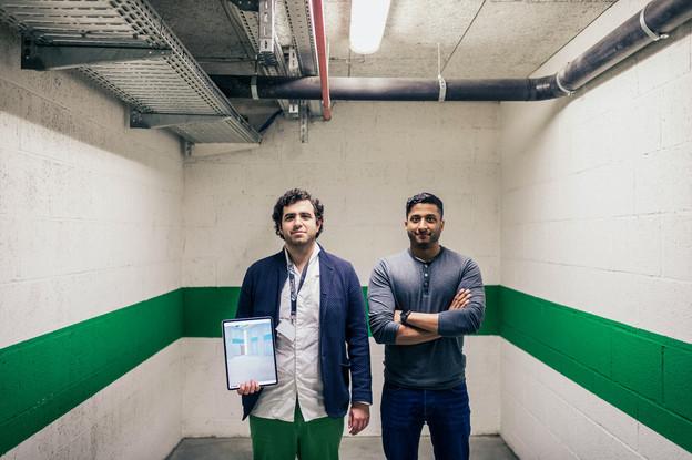 Caner Dolas et Jayan Jevanesan, qui ont créé Gamma Technologies en 2019, ont séduit un des leaders mondiaux de l'outillage. (Photo: Mike Zenari / archives Maison moderne)