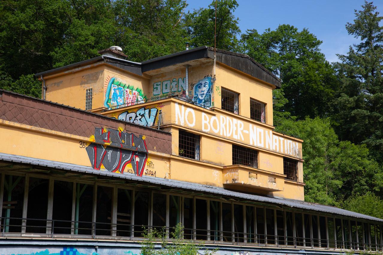 La Gantenbeinsmillen sera entièrement repeinte par l'artiste Eric Mangen, avec des performances live. Matic Zorman/Maison Moderne
