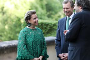 S.A.R. la Grande-Duchesse Maria Teresa et S.A.R. le Grand-Duc Henri. ((Photo: Sophie Margue))