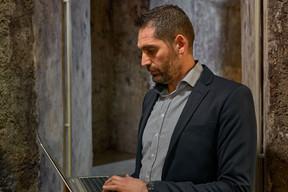 Jérôme Fritz, responsable de la sécurité informatique de la Société nationale des chemins de fer luxembourgeois. ((Photo: Andrés Lejona/Maison Moderne))