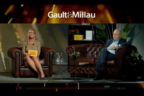 Marc Declerck et Virginie Claes ont dévoilé lundi la 18e édition du guide et des prix Gault&Millau Belgique. (Photo: Screenshot / Gault&Millau)