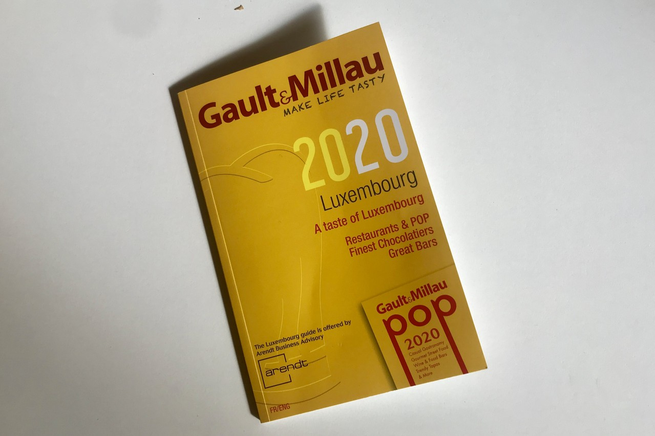 Le guide Gault&Millau Luxembourg2020. (Photo: Maison Moderne)
