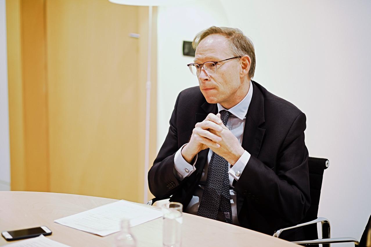 GeoffroyBazin a quitté BGLBNP Paribas en juillet2020, après deux années passées à la tête de la banque luxembourgeoise. (Photo: GaëlLesure)