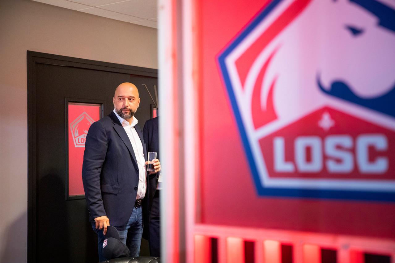 Gerard Lopez est devenu le président du Lille Olympique Sporting Club en janvier2017. (Photo: Patricia Pitsch/Maison Moderne/Archives)
