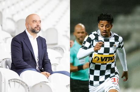 Après des négociations qui durent depuis quelque temps déjà, Gerard Lopez a finalement acquis le club de Boavista, où il veut voir émerger les jeunes talents comme Paulinho. (Photomontage: Paperjam)