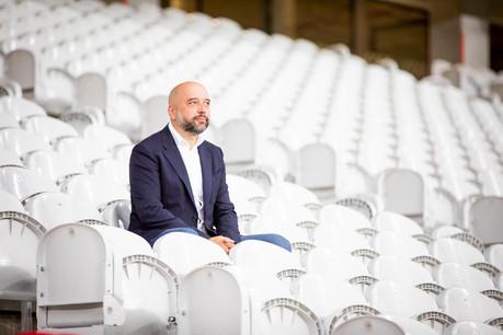 Gerard Lopez garde les deux pieds dans le football, mais en Belgique, au club de Mouscron. (Photo: Patricia Pitsch – Maison Moderne/archives)