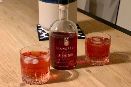 Simplement servi avec un tonic classique, le «sloe gin» de Mansfeld dévoile son équilibre et ses doux arômes de prunelle. (Photo: Maison Moderne)