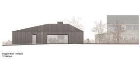 Projet de A+T Architecture pour le pavillon à Sanem. ((Illustration : A+T Architecture))