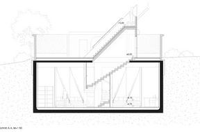 Projet deStudio Jil Bentz + Hendrik Brinkmann + Safran Architecture pour le pavillon à Schifflange. ((Illustration:Studio Jil Bentz + Hendrik Brinkmann + Safran Architecture))