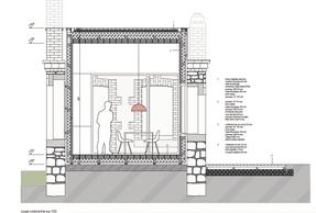 Projet de hsa pour le pavillon à Rumelange. ((Illustration: hsa))