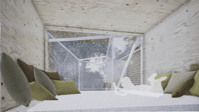 Projet de Coeba pour le pavillon à Bettembourg. ((Illustration: Coeba))