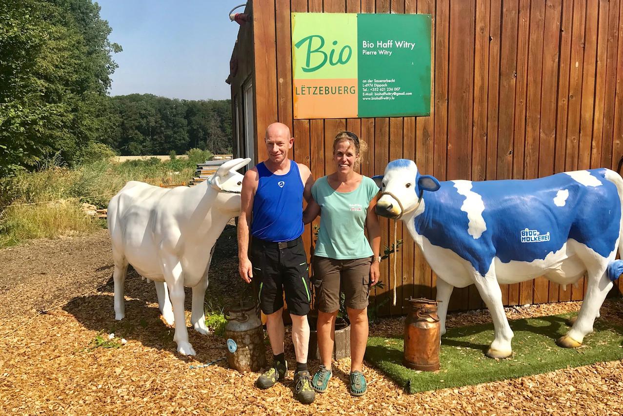 La ferme pédagogique bio Witry à Dippach fournit 100% du lait utilisé par Anna & Paul. (Photo: Maison Moderne)