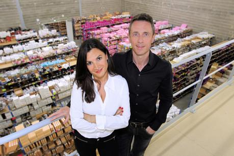 Laetitia Monaco et Patrice Legrand. (Photo: Glamuse)