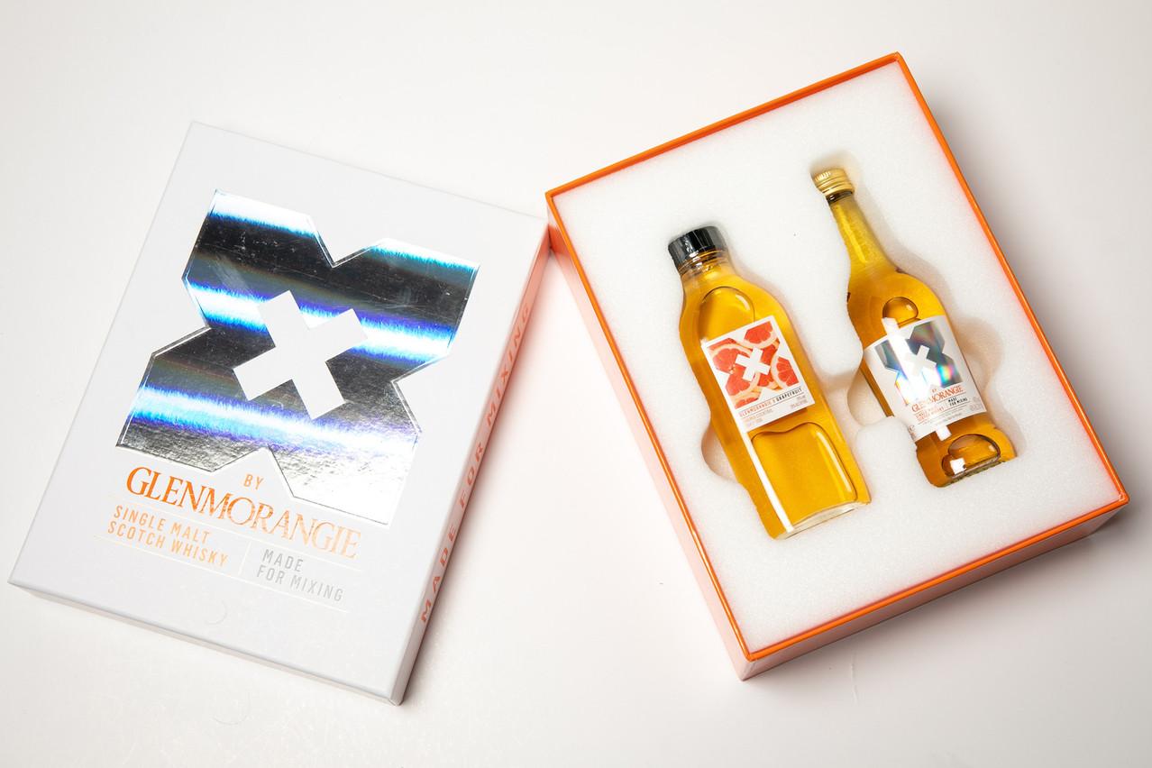 Du whisky écossais dans nos cocktails estivaux? Tout à fait, grâce à un nouveau coffret «X» très sexy… (Photo: Matic Zorman/Maison Moderne)