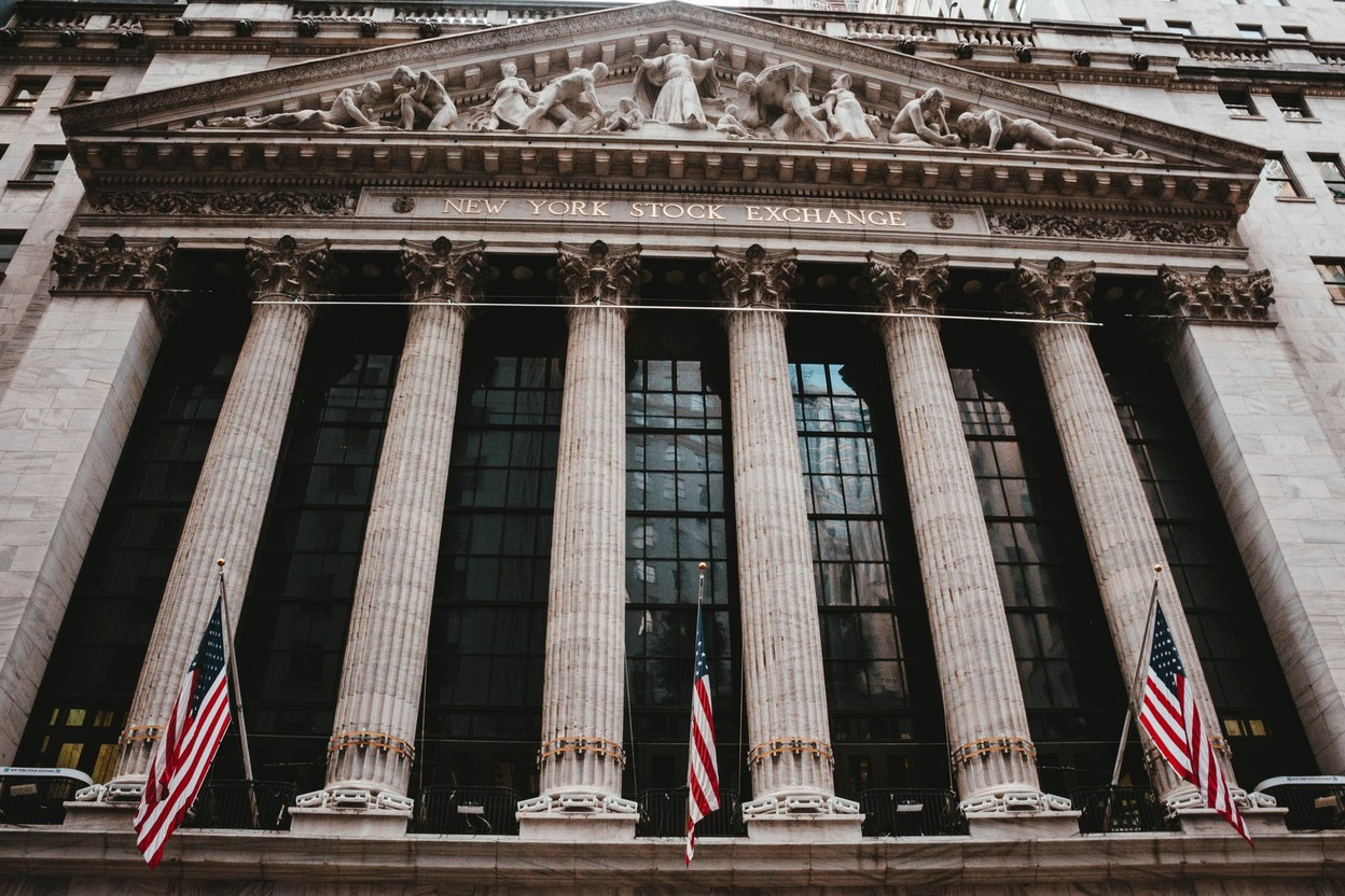 Wall Street's 3 main stock market indices all closed more than 1% lower on Monday. Aditya Vyas/Unsplash