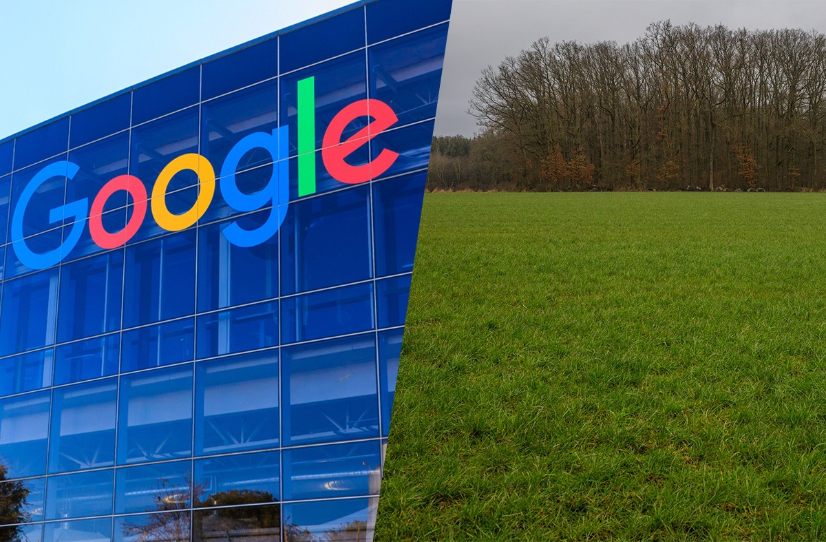 The reclassification of the 35-hectare site, wanted by Google for a data centre zone, is still under debate Photo: Maison Moderne
