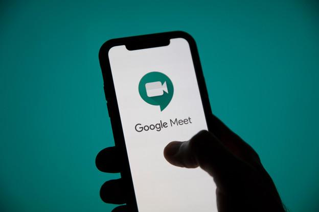 Google Meet est l'application de vidéoconférence qui émet le moins de CO2, mais l'app est aussi troisième des moins énergivores et de celles qui transmettent le moins de données. (Photo: Shutterstock)