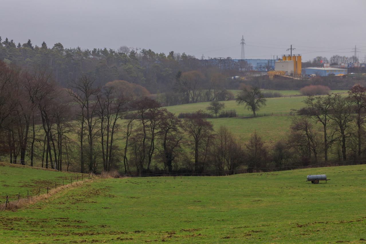 Google a acquis un peu plus de 32 hectares de terrain à Bissen pour son projet de data center. (Photo: Matic Zorman/Archives)