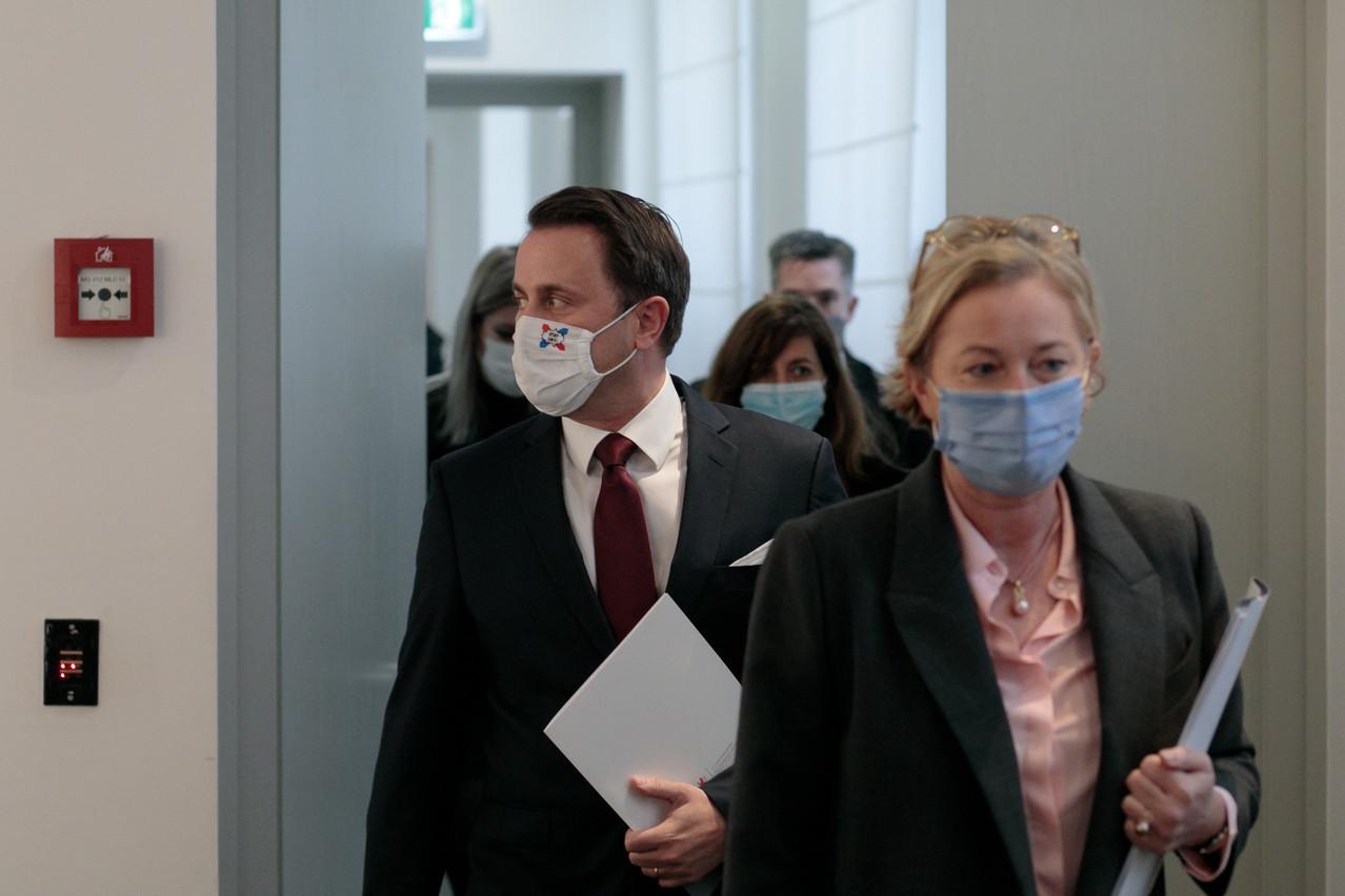 Le Premier ministre Xavier Bettel a annoncé lundi de nouvelles mesures pour faire face à la crise sanitaire. (Photo: Matic Zorman / Maison Moderne)