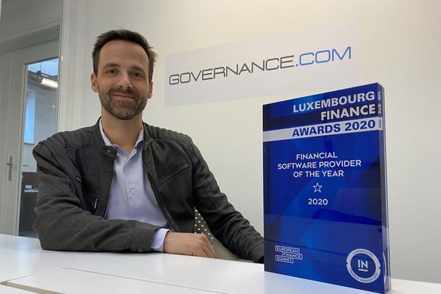 Après la levée de fonds et un nouveau prix, Bert Boerman et Governance veulent se développer d'abord sur le marché luxembourgeois. (Photo: Paperjam)