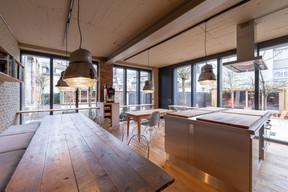 L'espace des petits-déjeuners est chaleureux et accueillant. ((Photo: Patty Neu))