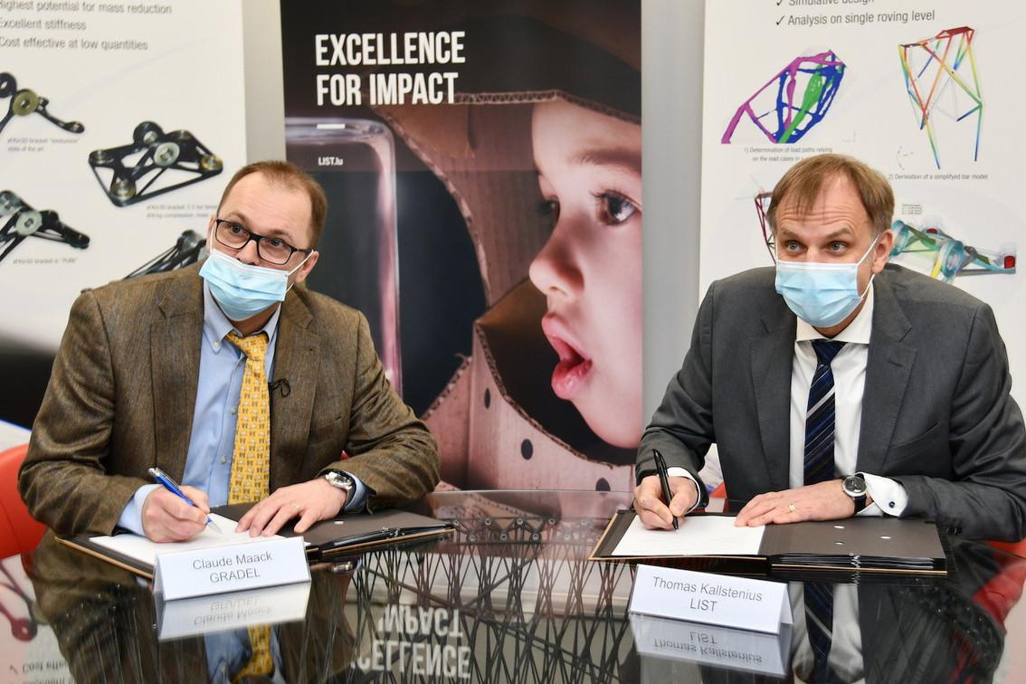Le laboratoire commun de Gradel et du List intéresse déjà trois grandes sociétés de l'espace européennes. (Photo: List)