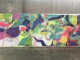 Le travail de Samuel Levy est plutôt abstrait et décoratif à la fois. ((Photo: Paperjam))