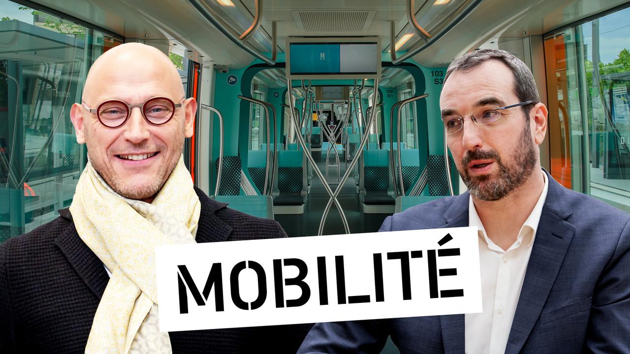 Vincent Bechet et Dominique Laurent, respectivement Managing Director au sein d'INOWAI et de PwC Luxembourg (Crédit: Maison Moderne)