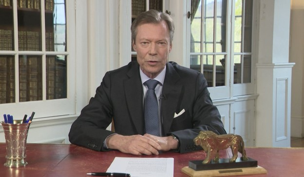 Les mesures prises par le gouvernement sont justes et adaptées et il faut suivre les recommandations, a dit le Grand-Duc Henri, lundi soir dans un message. (Photo: Paperjam)