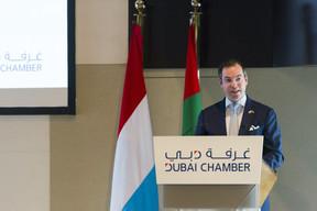 «Le discours donné à la Chambre de commerce et d'industrie de Dubaï était par exemple très positif», note encore René Grosbusch. ((Photo: © SIP / Jean-Christophe Verhaegen, tous droits réservés))