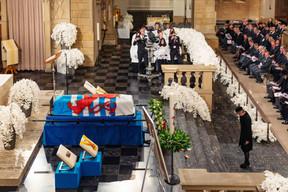 Funérailles de S.A.R. le Grand-Duc Jean, cathédrale Notre-Dame de Luxembourg, samedi 4 mai 2019. ((Photo: Cour grand-ducale / Samuel Kirszenbaum))