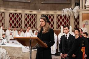 La princesse Maria-Annunciata de Liechtenstein. ((Photo: Cour grand-ducale / Sophie Margue))