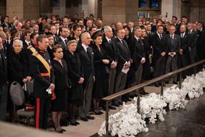 La famille grand-ducale au premier plan. ((Photo: Cour grand-ducale / Sophie Margue))