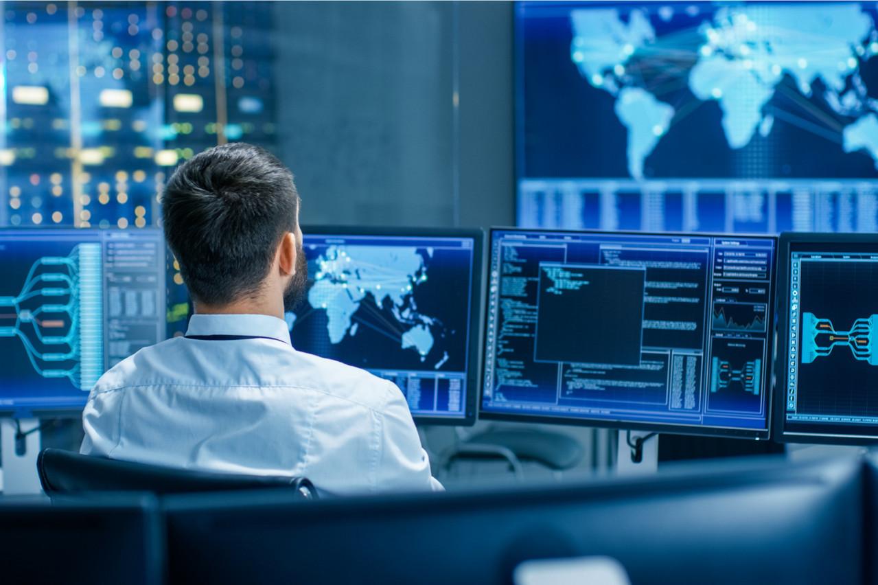 La cybersécurité est devenu un enjeu capital, et encore plus depuis le début de la pandémie et du télétravail. (Illustration: Shutterstock)