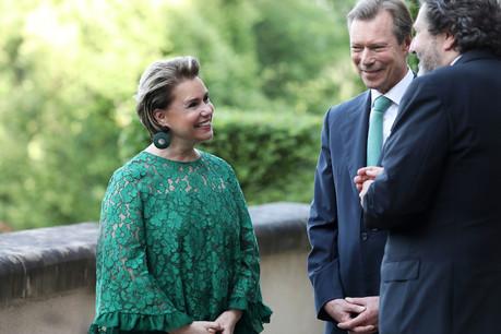 La Grande-Duchesse Maria Teresa devra subir, suite à une blessure au genou, une intervention chirurgicale le mardi 8 octobre. (Photo: Sophie Margue/Archives)