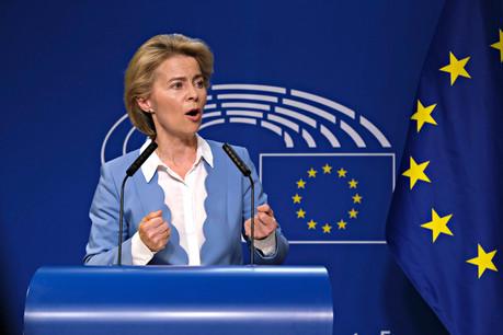 Feuille de route – Établir un «pacte vert» et instaurer un salaire minimum équitable figurent entre autres parmi les priorités de la présidente de l'UE. (Photo: Shutterstock)