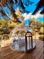 """The """"dome""""  Photo: La Grange d'Hélène"""